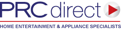 PRCDirect Logo - Home entertainment and appliance specialists