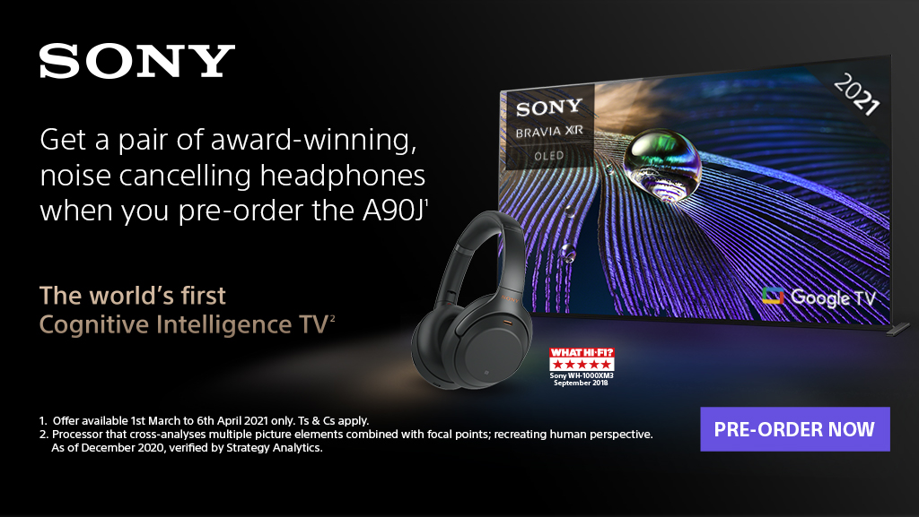 Sony Pre-Order A90J TV Promotion