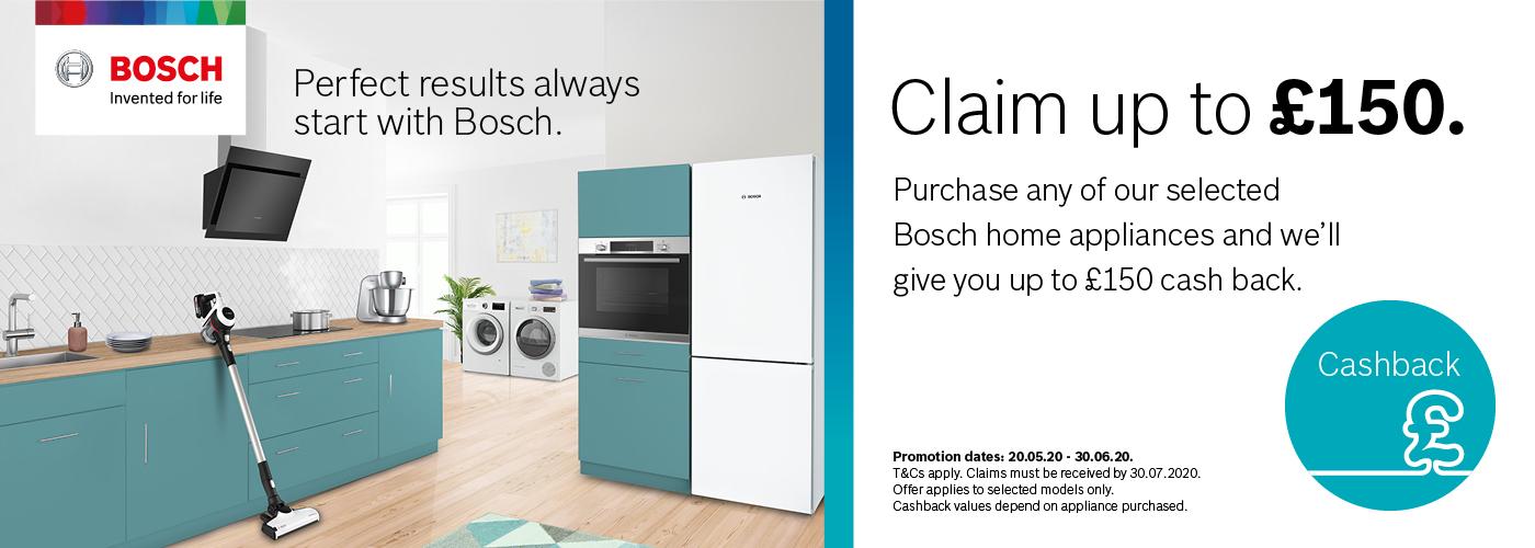 Bosch Cash Back Promotion