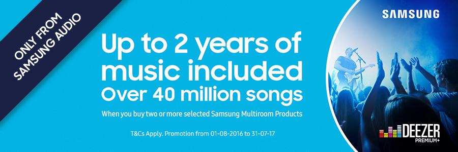 Samsung Deezer Promotion