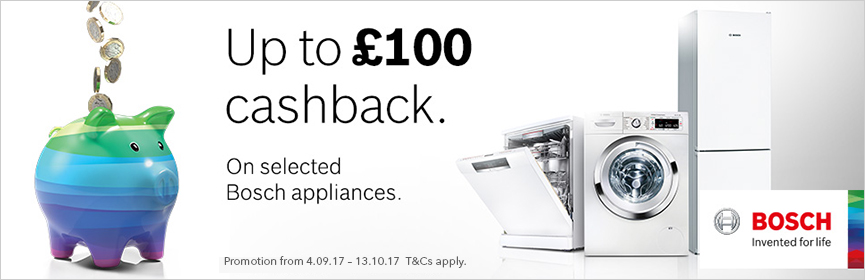 Bosch Cash Back Offer