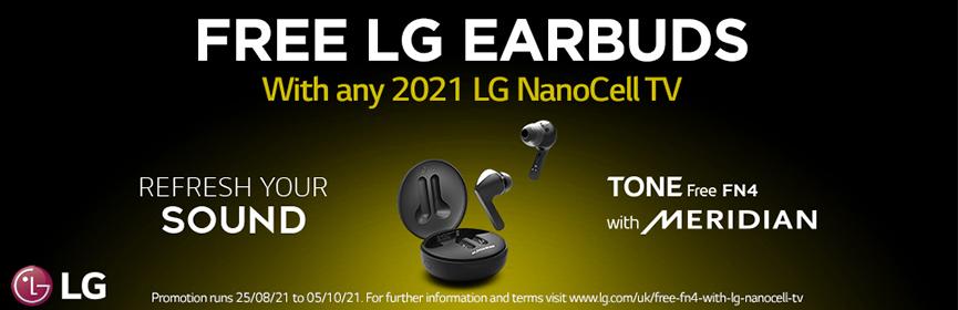 Free LG FN4 Earbuds