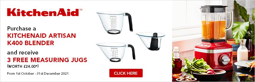 Kitchenaid K400 Blender Promotion