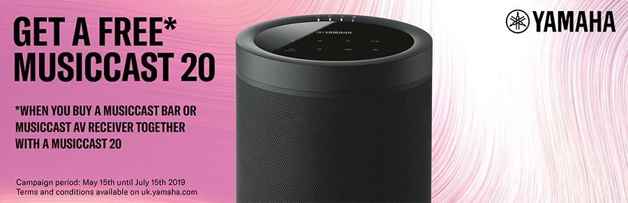 Yamaha Musiccast Promotion