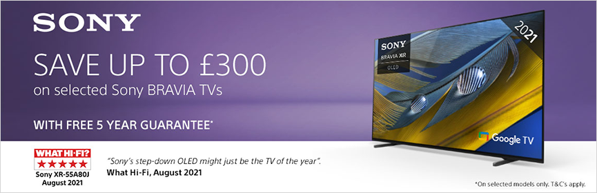 Sony Save Up To £300