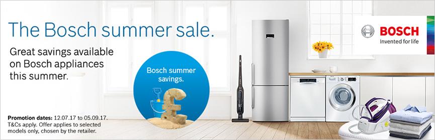 Bosch Summer Promotion