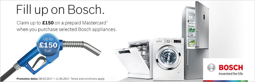 Bosch Claim up to £150