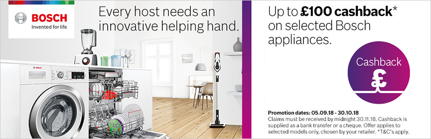 Bosch Great Savings This Summer