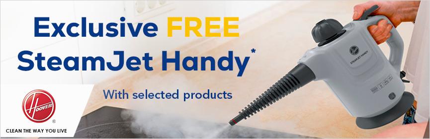 Hoover Free SteamJet Handy