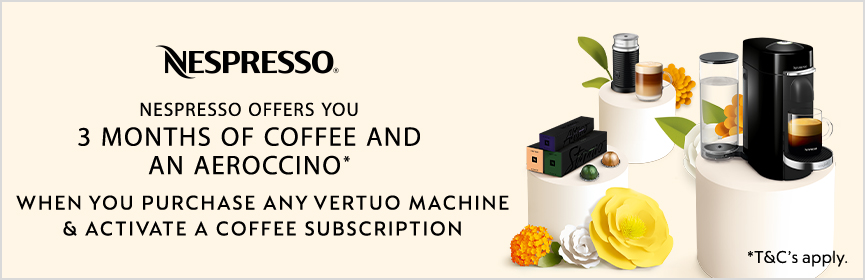 Magimix Nespresso Promotion