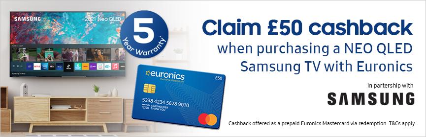 Samsung Euronics Cashback