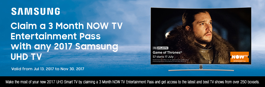 Samsung NOW TV Promotion
