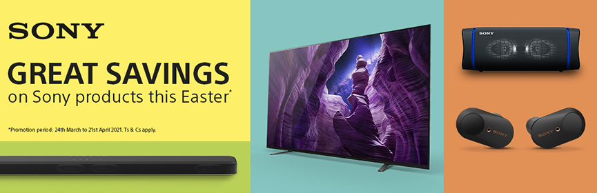Sony Great Savings This Easter