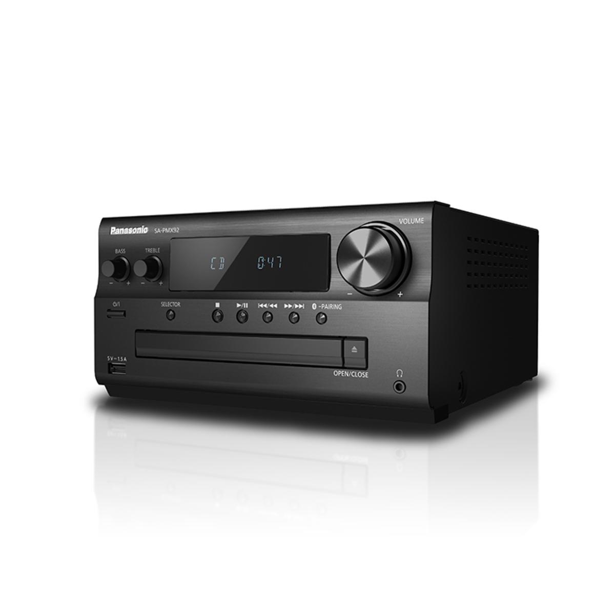 Panasonic SCPMX92EBK 120W High Resolution Audio System