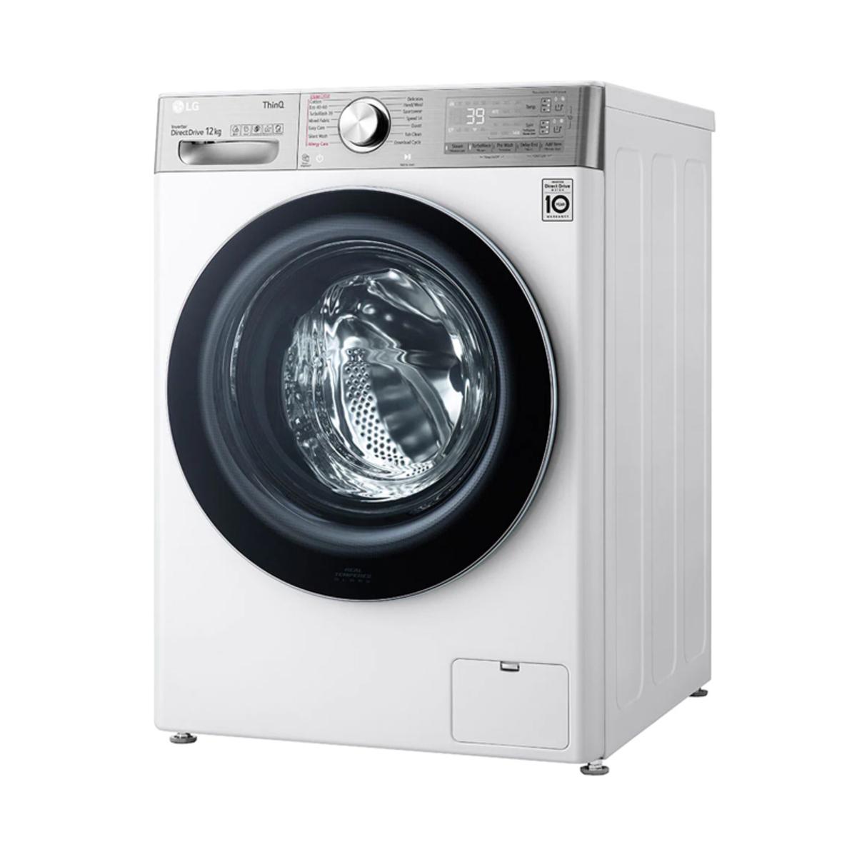 LG F4V1012WTSE 12kg / 1400 RPM Washing Machine - White