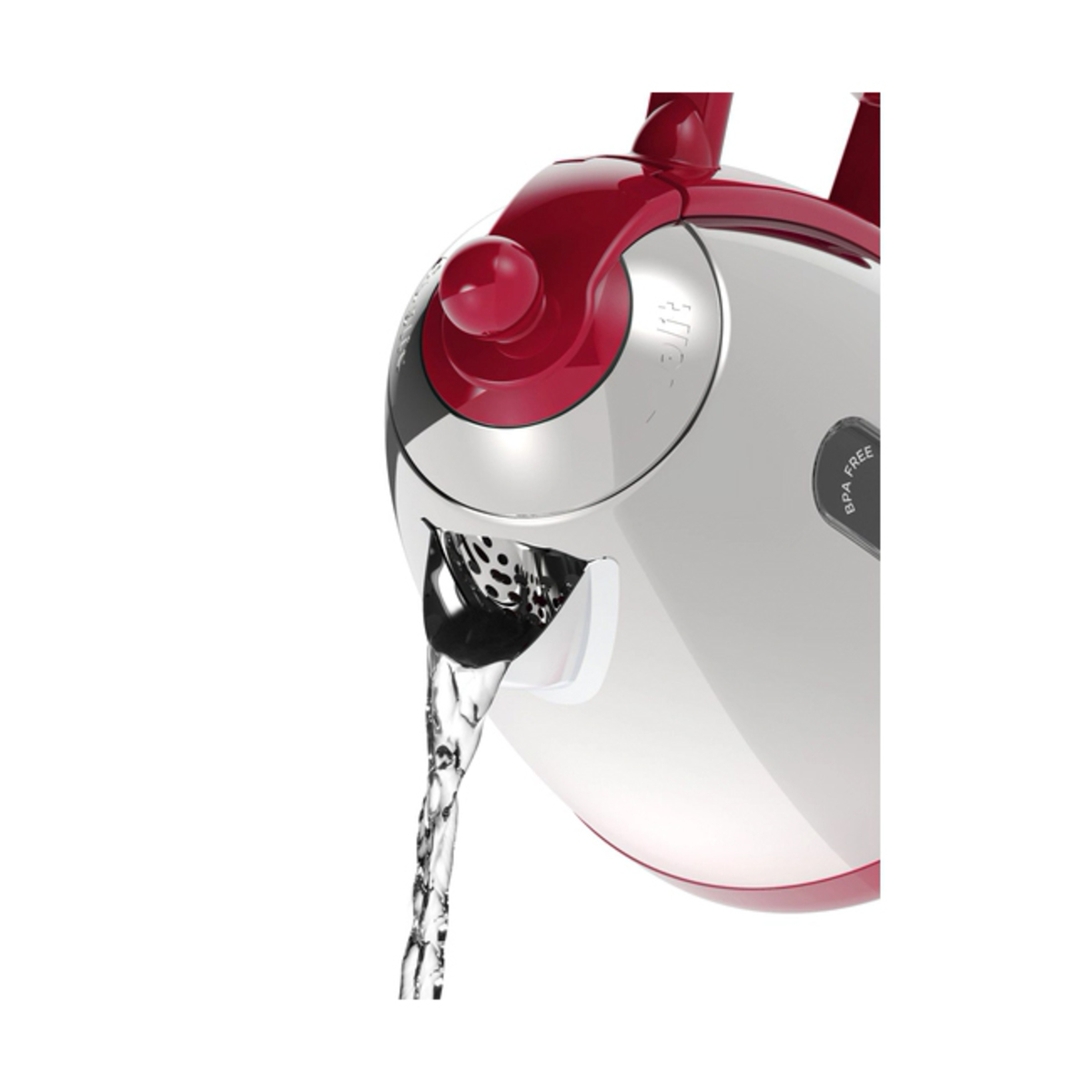 Image of Dualit 72001 1.5L LITE Jug Kettle, Gloss Red
