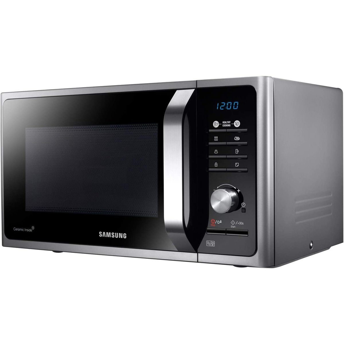 Image of Samsung MS23F301TAS 23L 800W Solo Microwave Oven