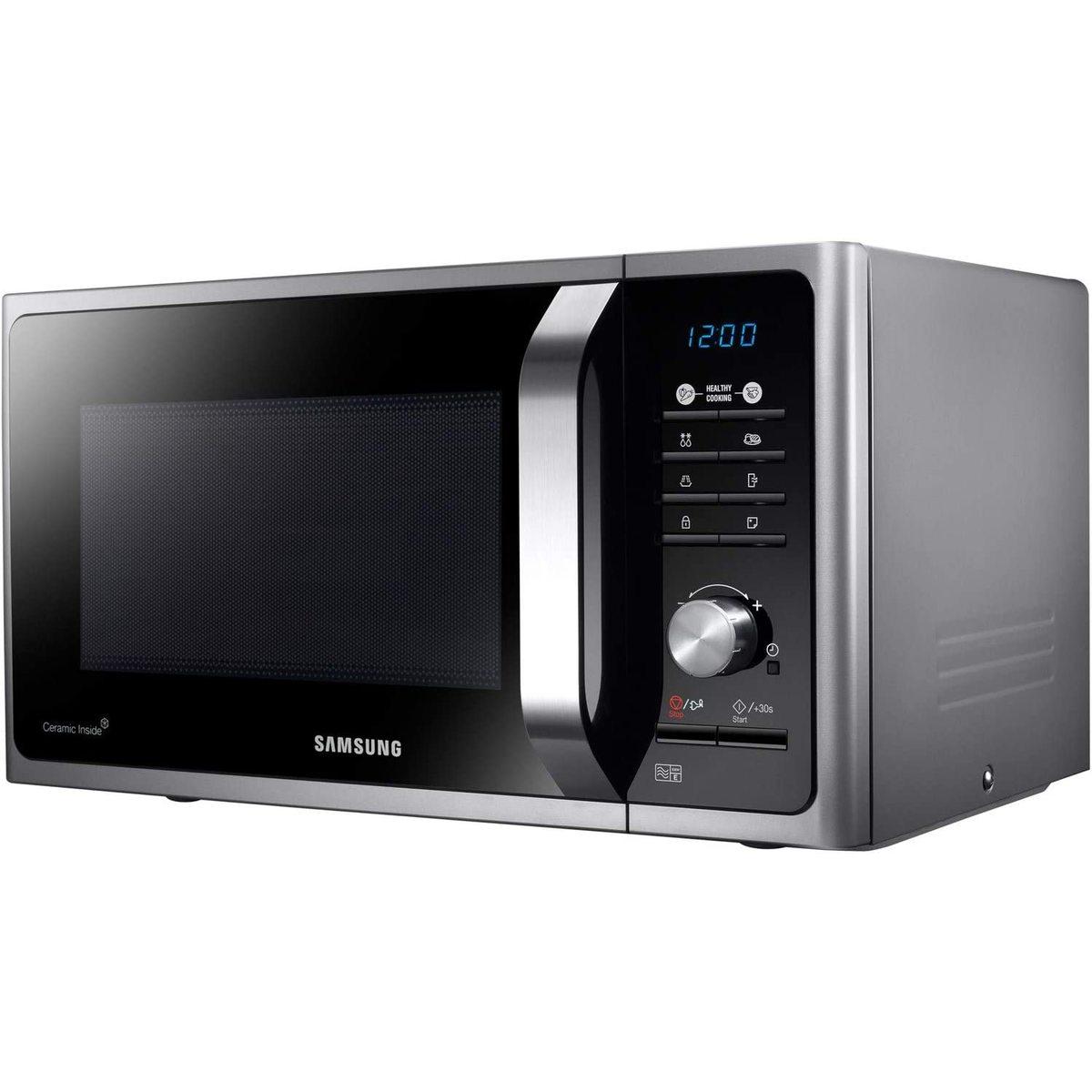 Samsung MS23F301TAS 23L 800W Solo Microwave Oven