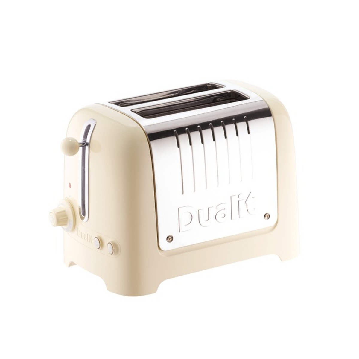 Image of Dualit 26202 2 Slot Lite Toaster, Cream Gloss