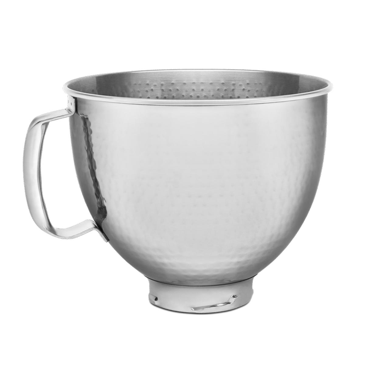 KitchenAid 5KSM5SSBHM 4.7 Litre Bowl, Hammered Stainless Steel