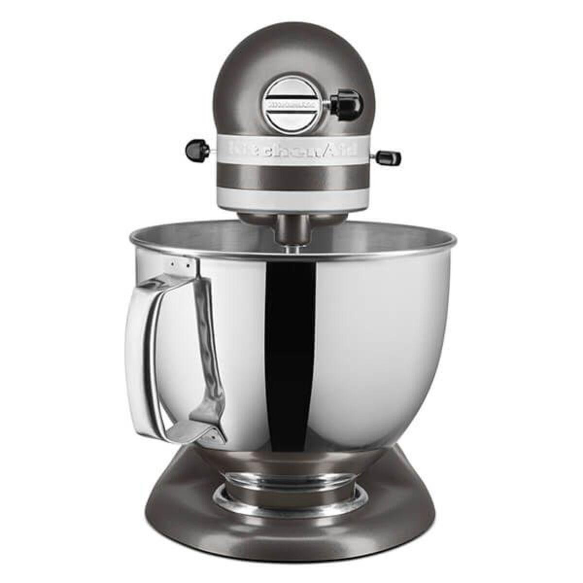 KitchenAid 5KSM125BFG 4.8 Litre Artisan Stand Mixer, Matte Grey