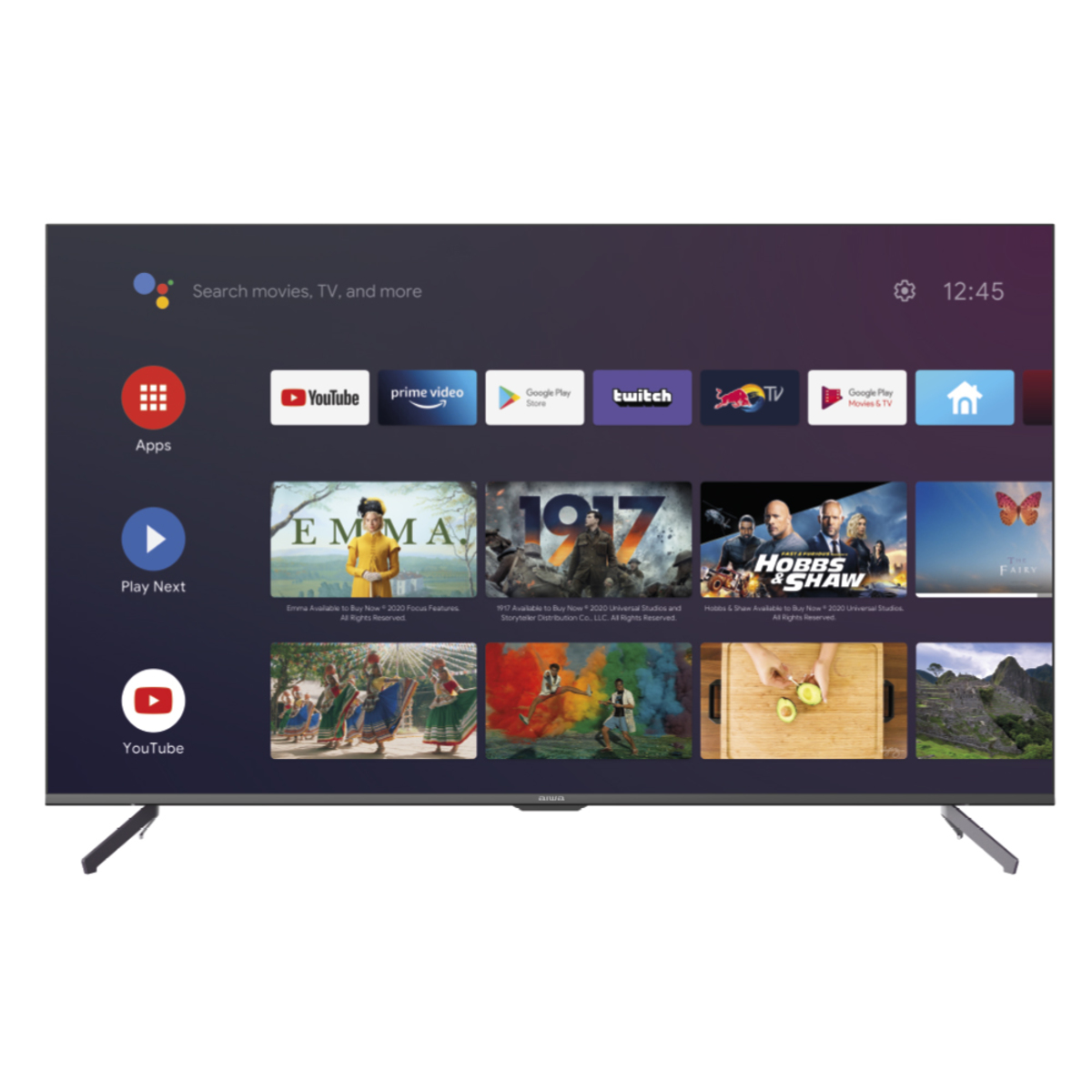 "Aiwa LED507UHD 50"" 4K Ultra HD HDR+ Smart Android TV"