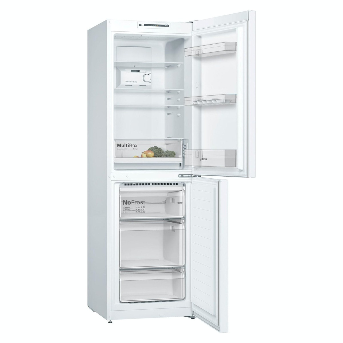 PRC Direct LEC TF55185W 60cm A+ Frost Free Fridge Freezer in White