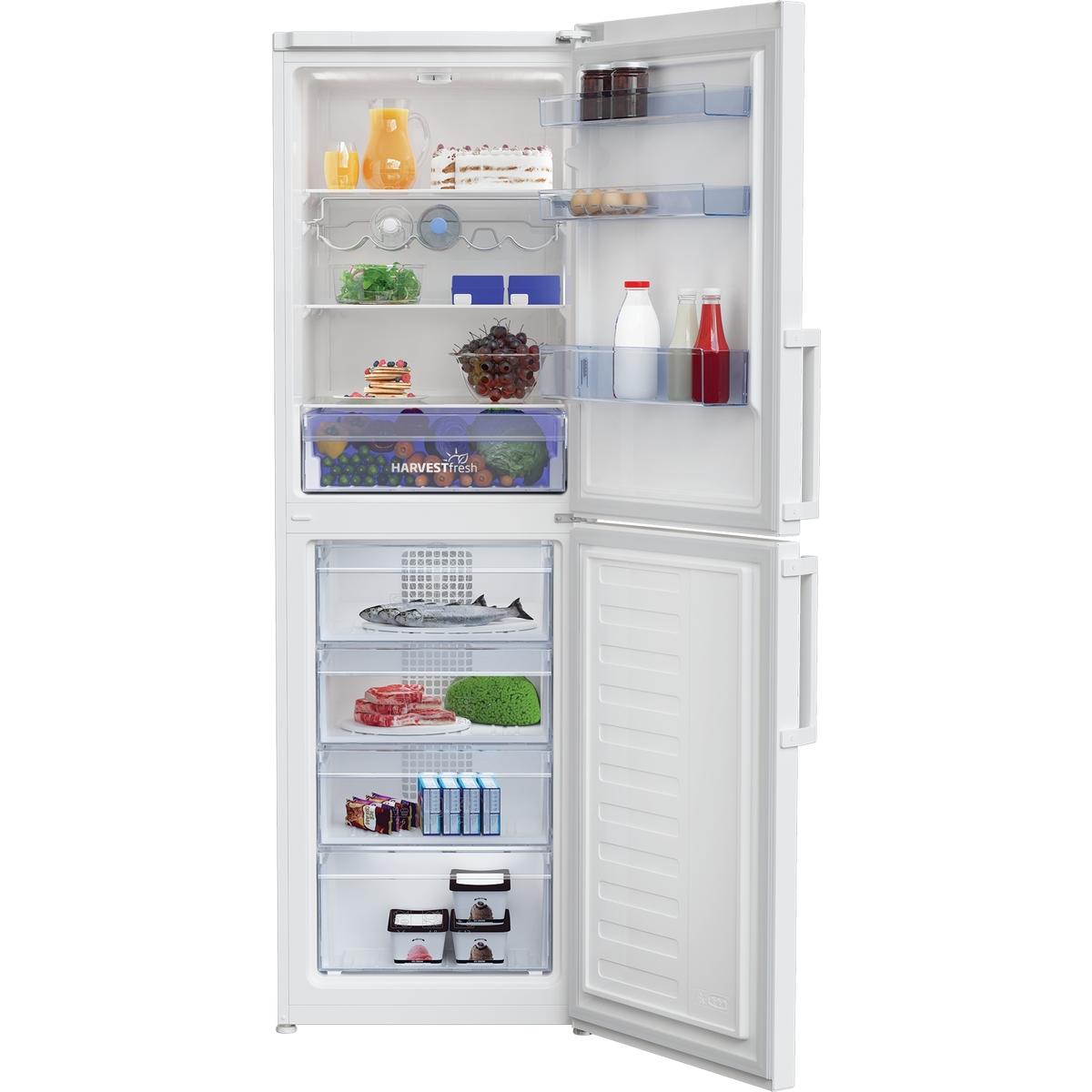 Beko CFP3691VW 60cm Freestanding Frost Free Combi Fridge Freezer
