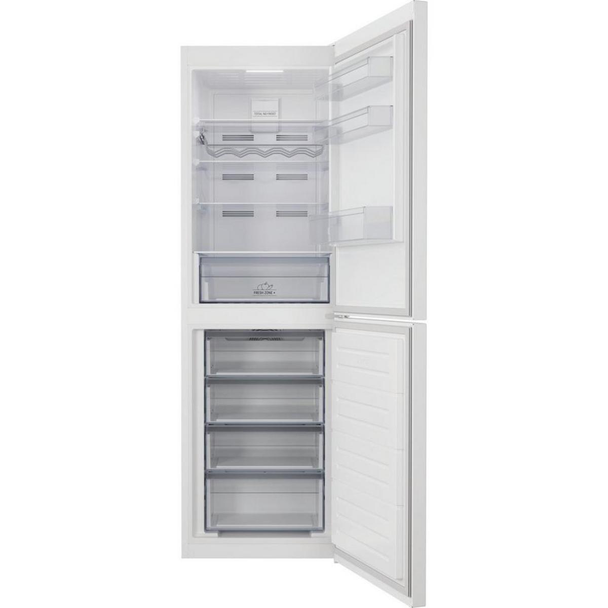 HOTPOINT HCIH50TI1WUK 60cm Frost Free Fridge Freezer, White