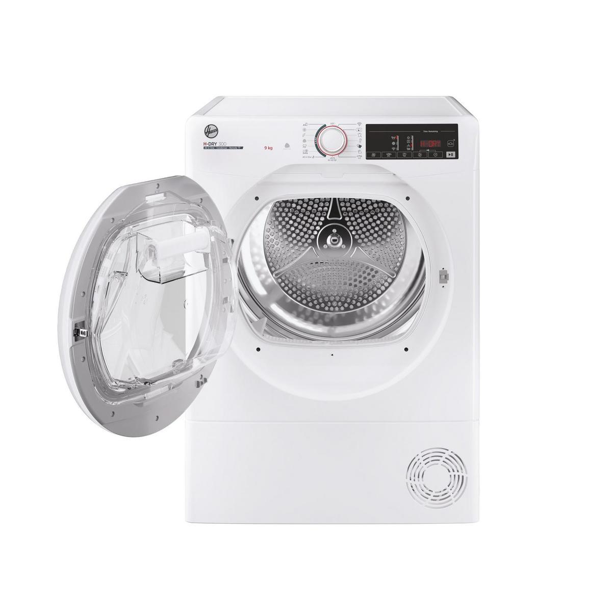 Hoover HLEC9LG 9kg Condenser Tumble Dryer in White