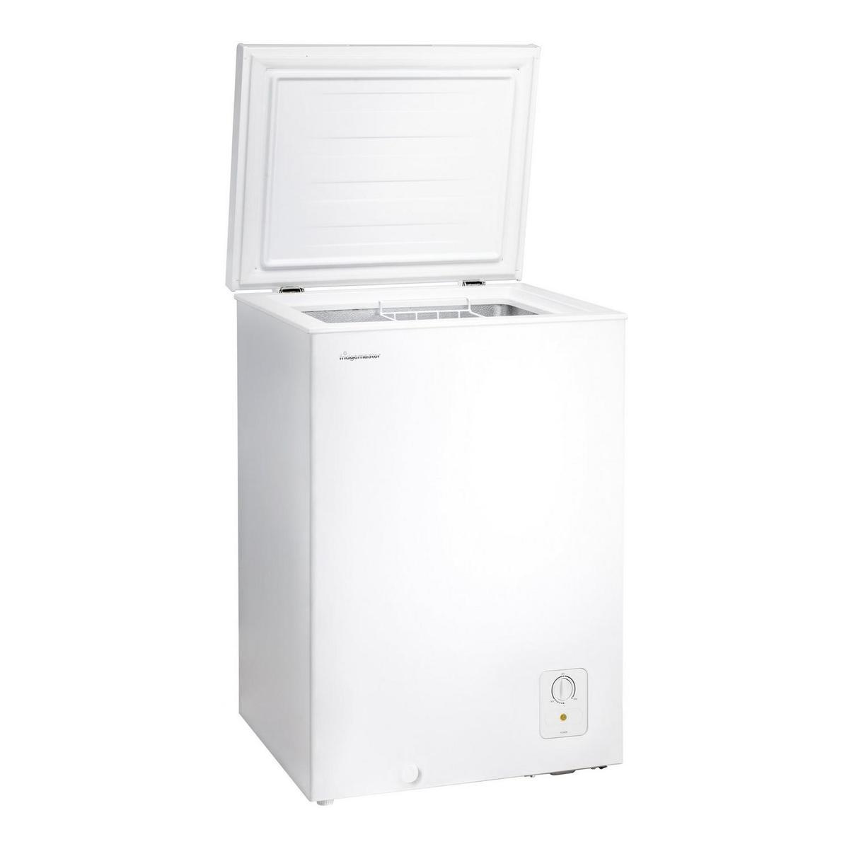 Fridgemaster MCF96 A+ 55cm Static Chest Freezer, White