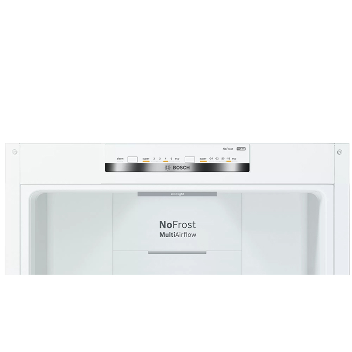 Image of Bosch KGN34NW3AG A++ 60cm No Frost Freestanding Fridge Freezer in White