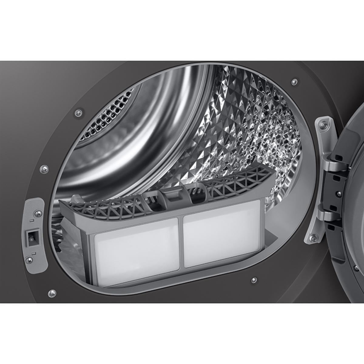 Samsung DV80T5220AX/S1 A+++ 8kg Heat Pump Tumble Dryer, Graphite