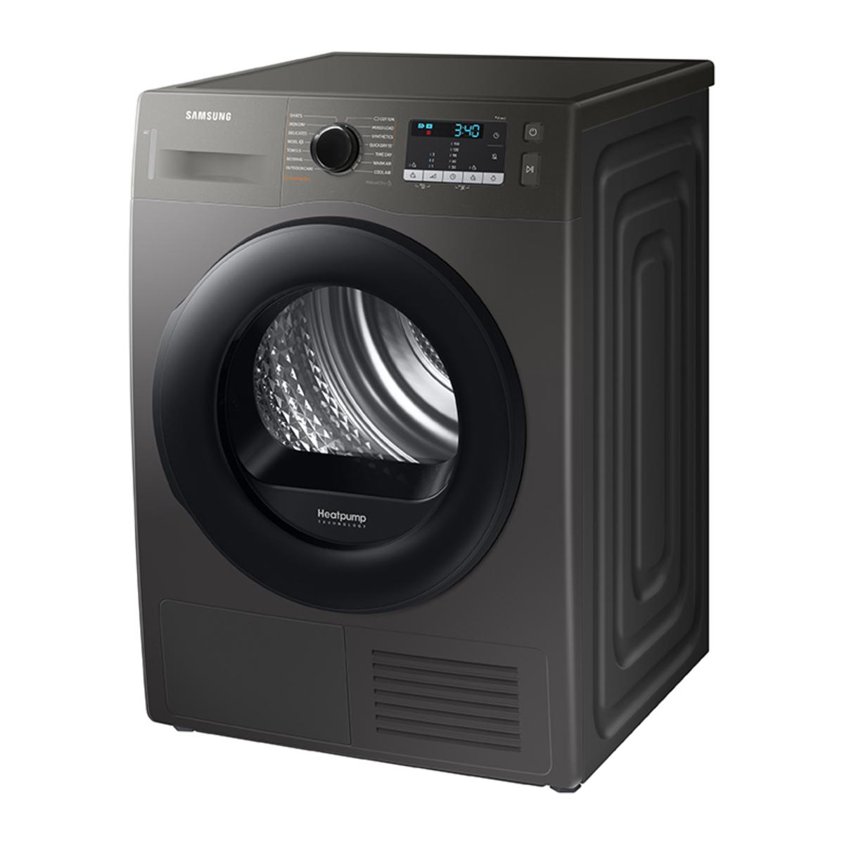 Samsung DV90TA040AN/EU A++ 9kg Heat Pump Tumble Dryer, Graphite