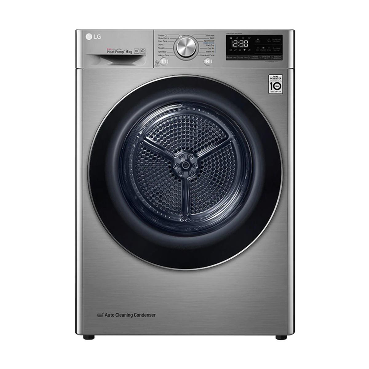 LG FDV909W A+++ Eco Hybrid 9Kg Heat Pump Tumble Dryer