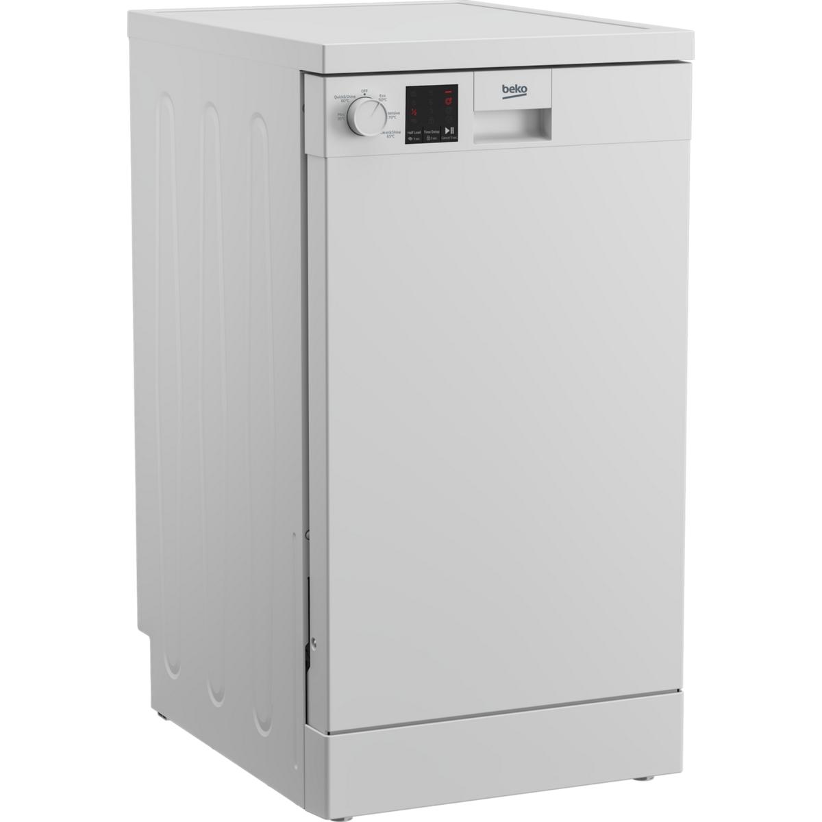 Beko DVS05C20W A++ Rated Slimline Dishwasher in White
