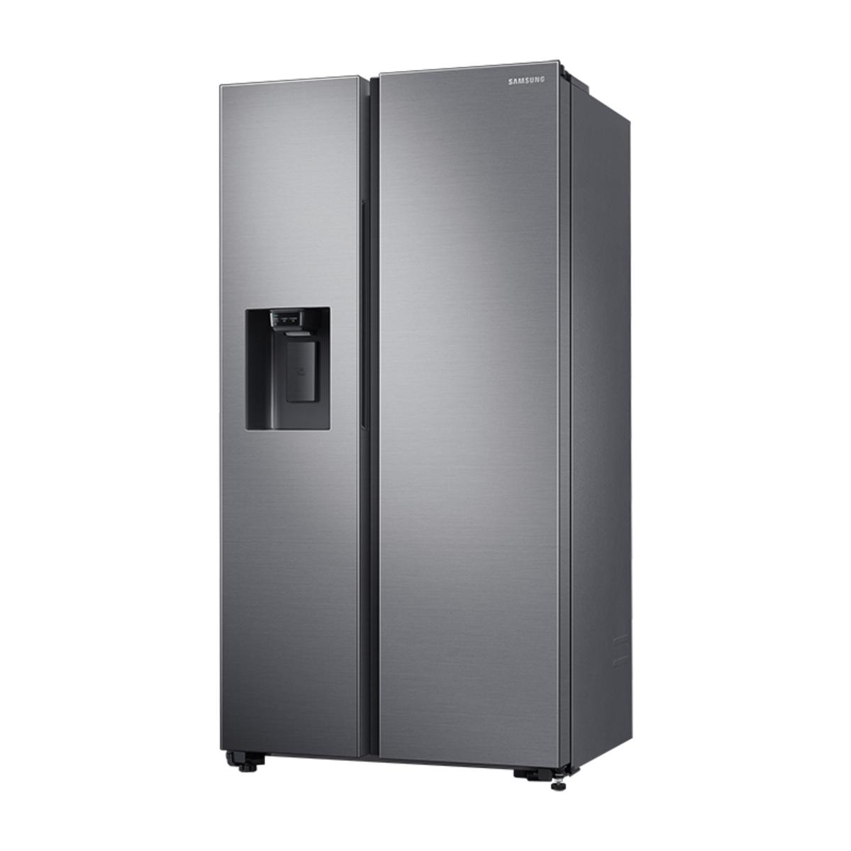 Samsung RS65R5401M9/EU American Style Fridge Freezer, Matte Silver
