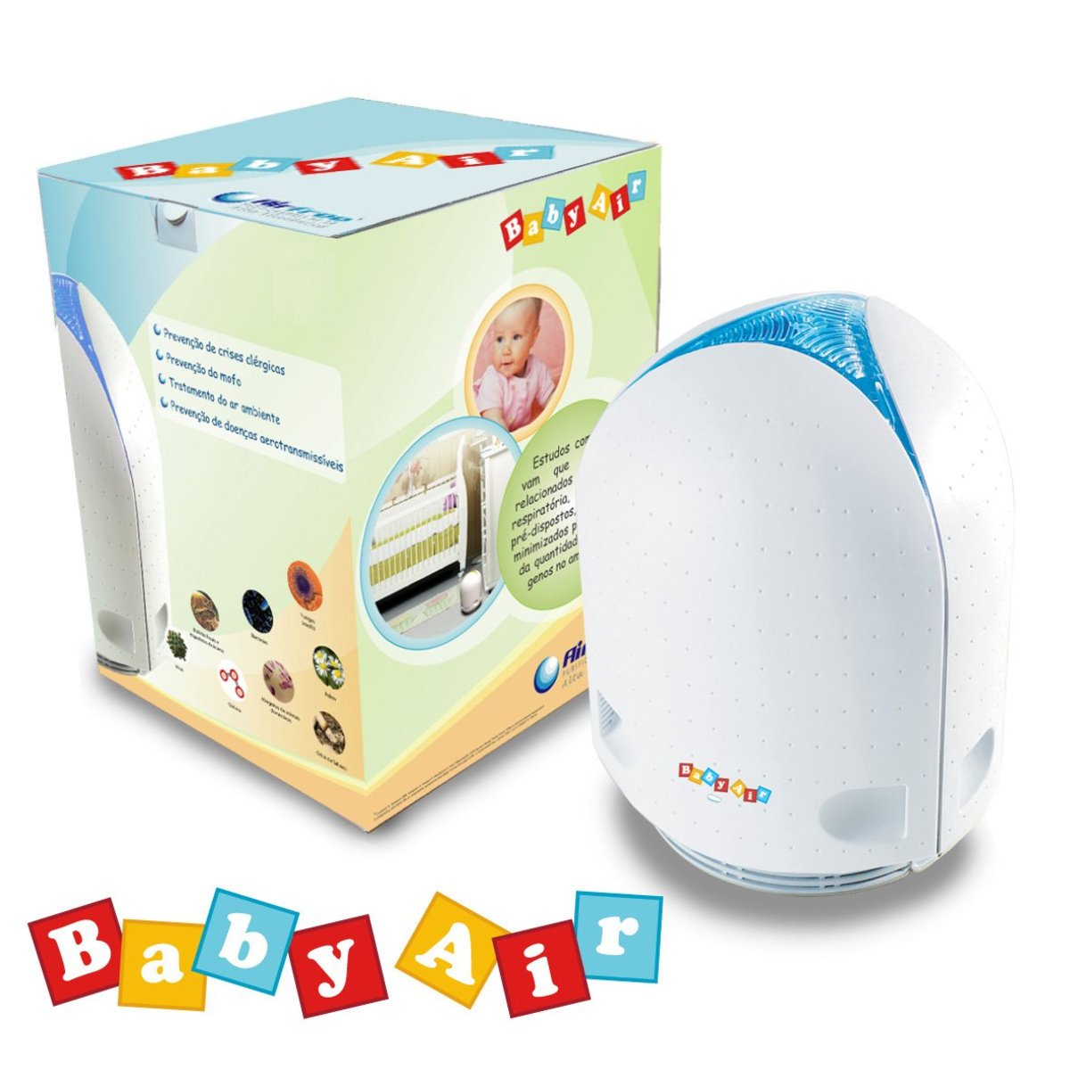 Image of Airfree BABYAIR Air purifier
