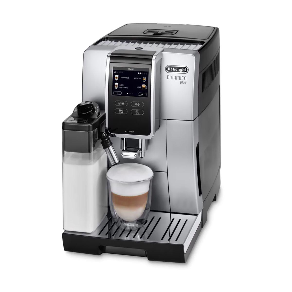 Delonghi ECAM37085SB Bean to Cup Coffee Machine, Silver