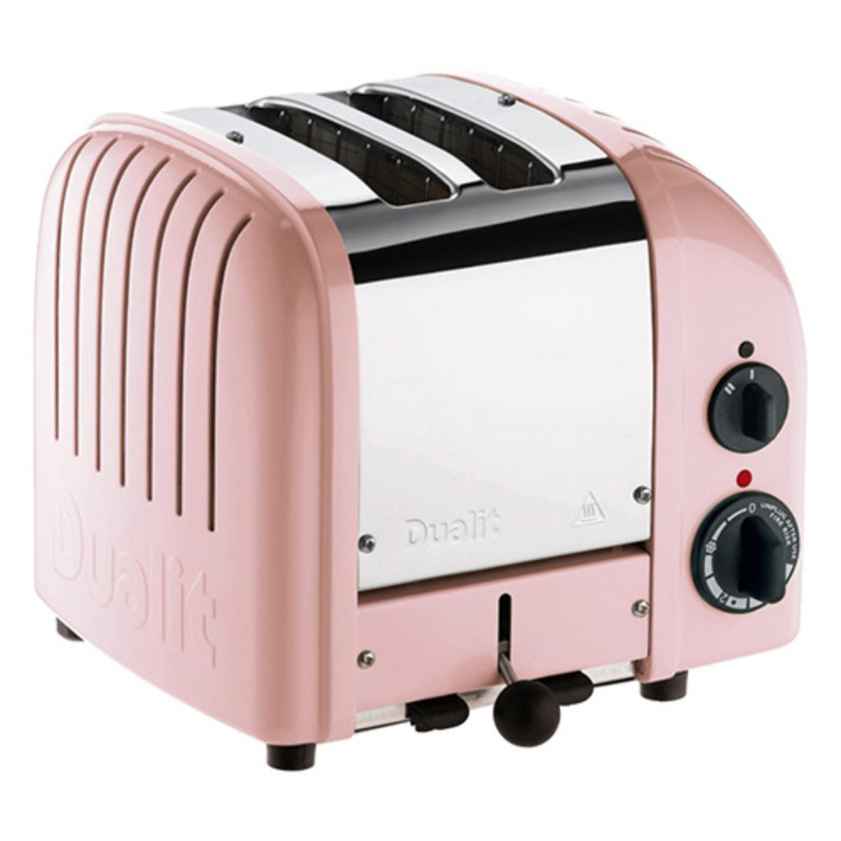 Image of Dualit 20440 Classic Vario AWS 2 Slot Toaster, Petal Pink