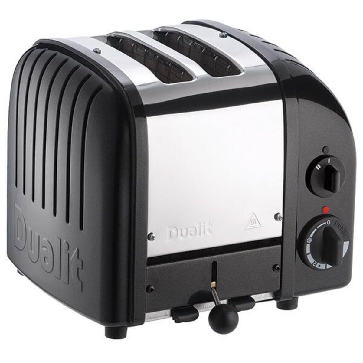 Image of Dualit 20433 Classic Vario AWS 2 Slot Toaster, Satin Black