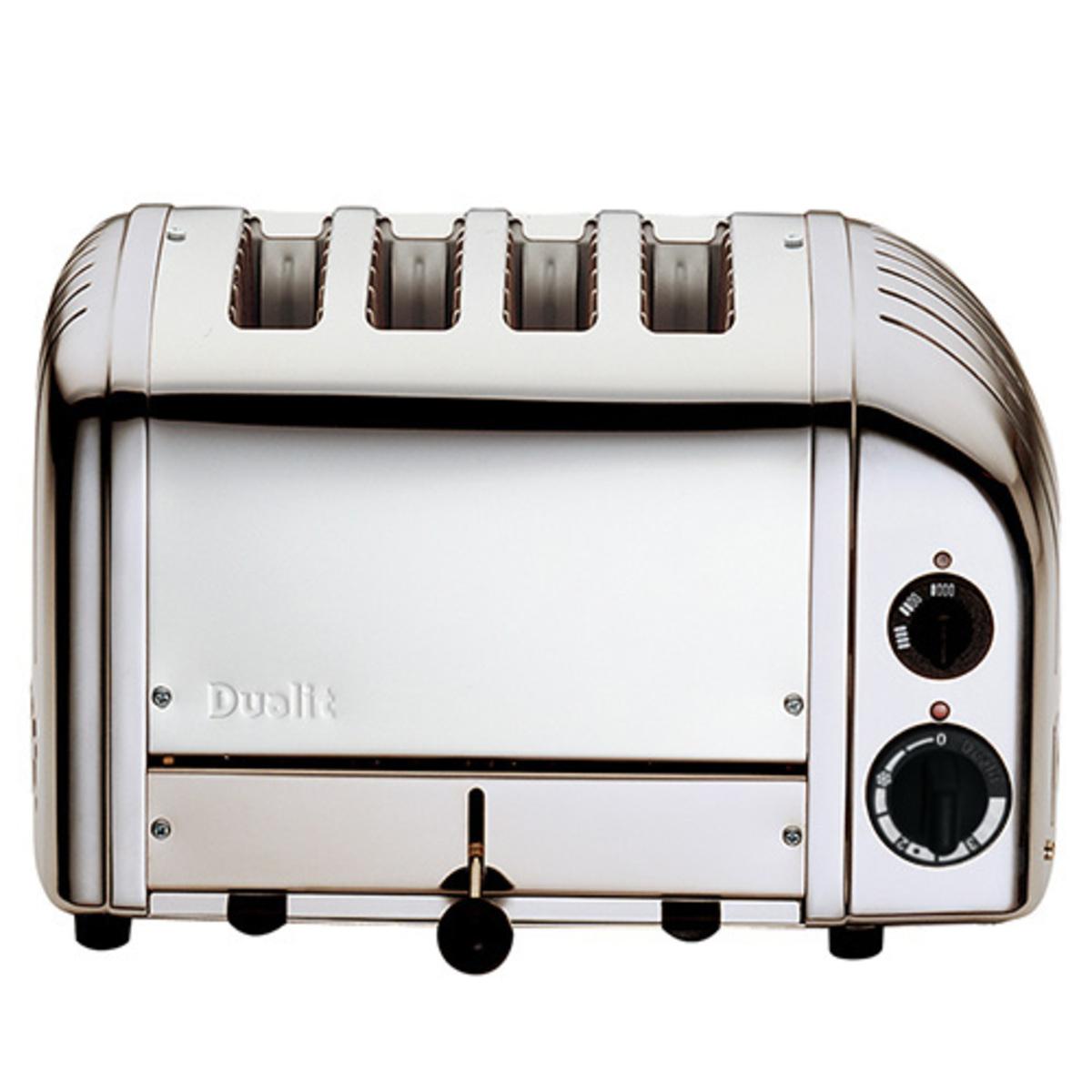 Dualit 40378 Classic Vario AWS 4 Slot Toaster, Polished