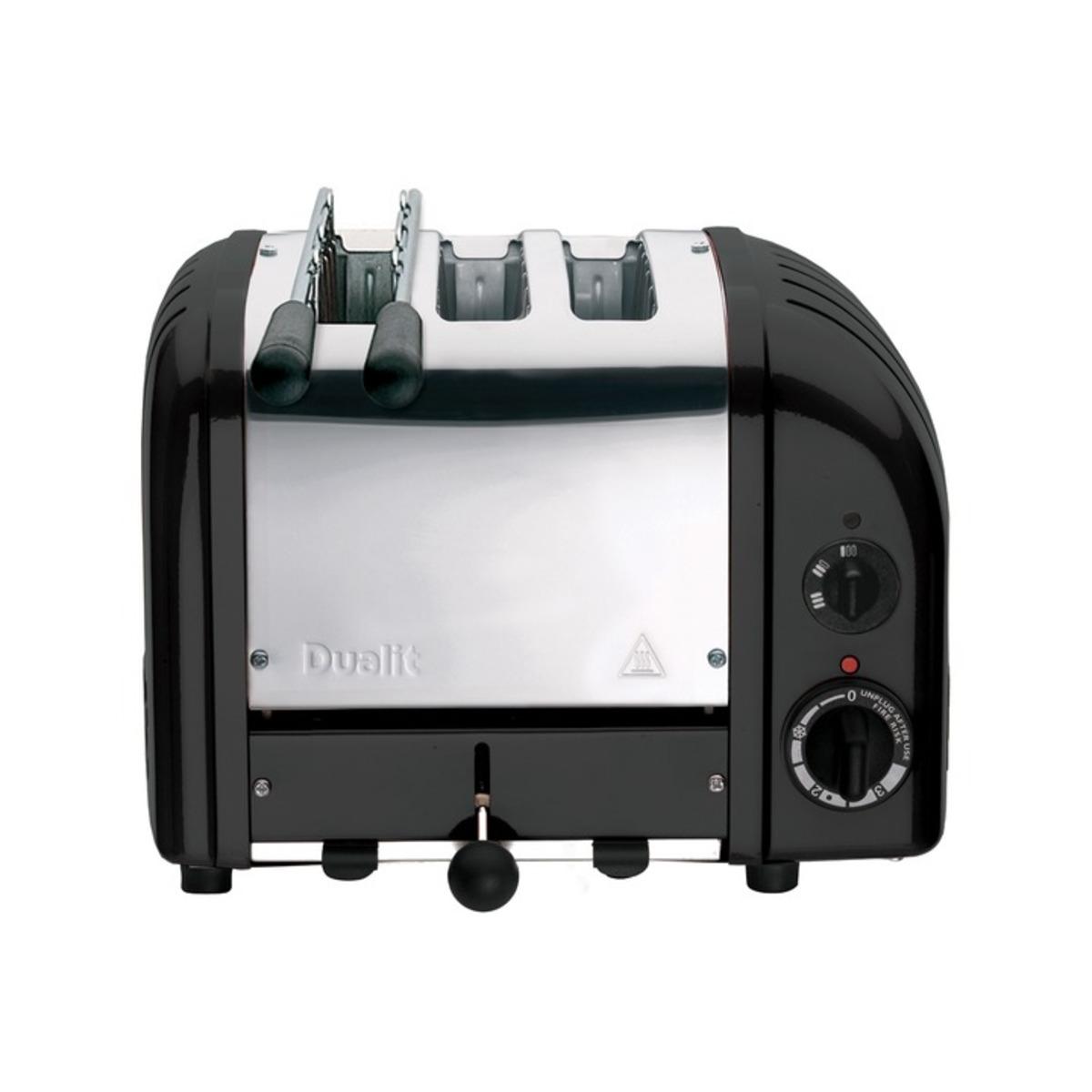Dualit 31205 Classic Vario AWS Combi 2 + 1 Toaster, Black