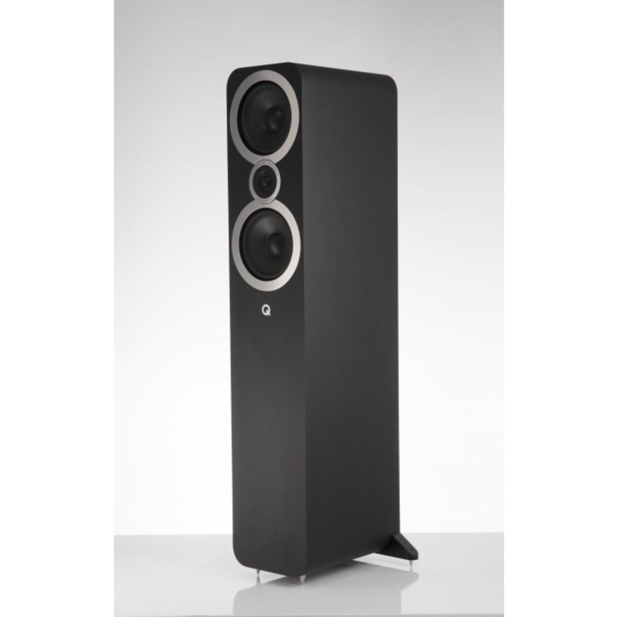 Q Acoustics 3050I GRAPHITE GREY Floorstand Speakers, Graphite Grey