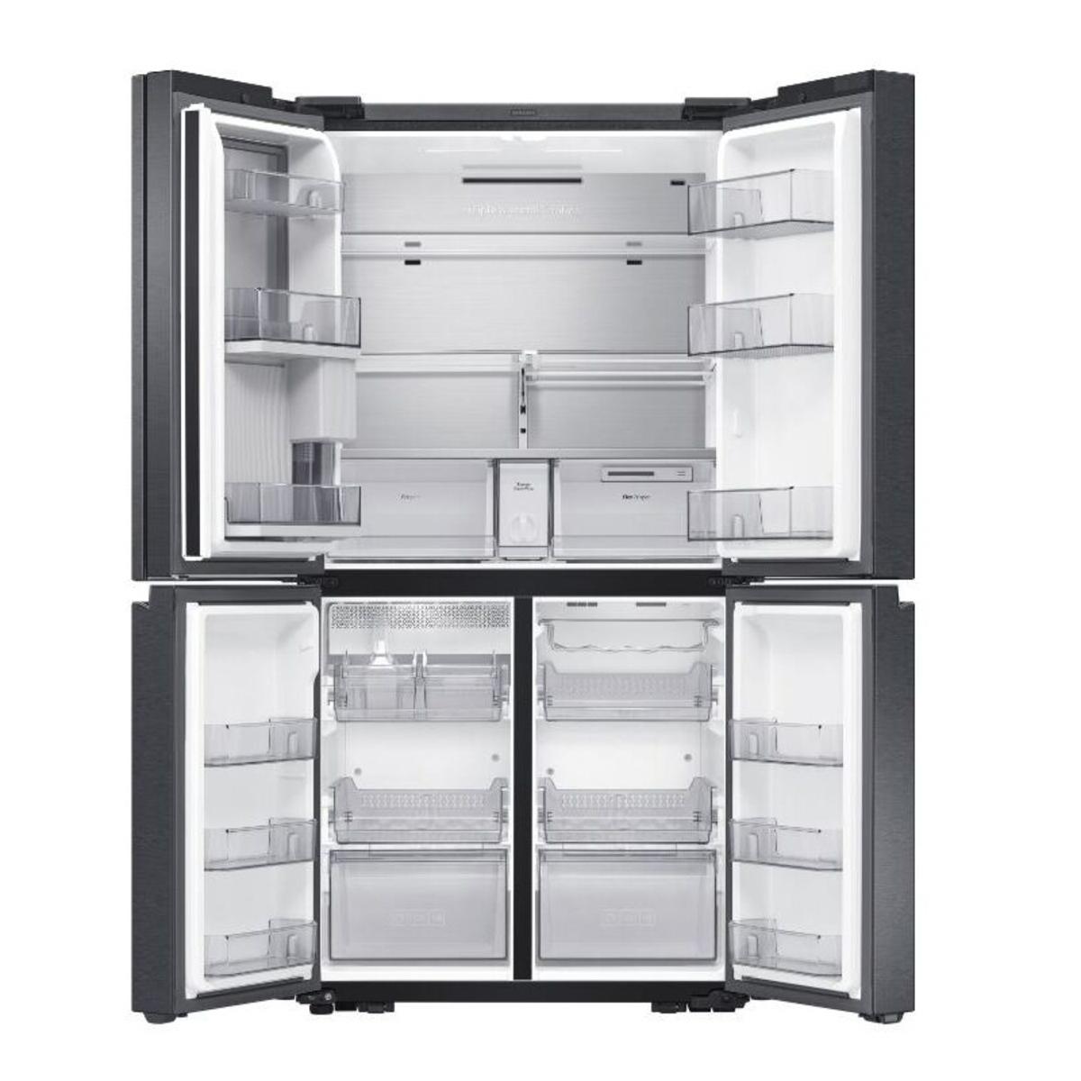 Samsung RF65A977FB1 French Door Family Hub Fridge Freezer, Black