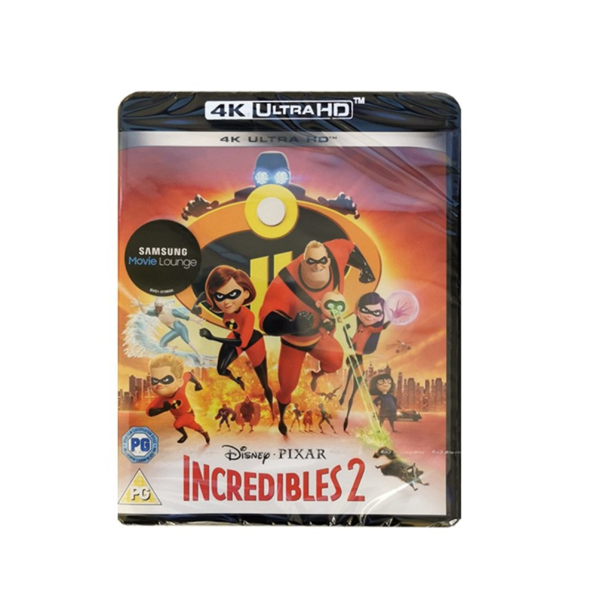 Image of 4K Incredibles 2 Blu-ray Disc