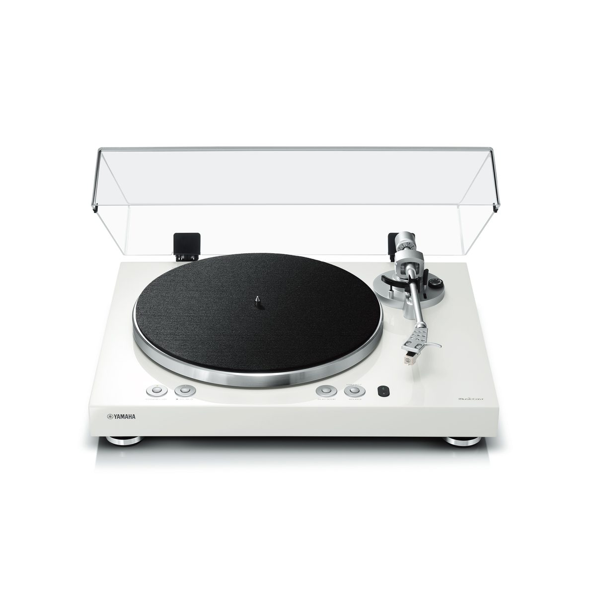Compare retail prices of YAMAHA MUSICCAST VINYL 500 WHITE MusicCast VINYL 500 Wireless Turntable, White to get the best deal online