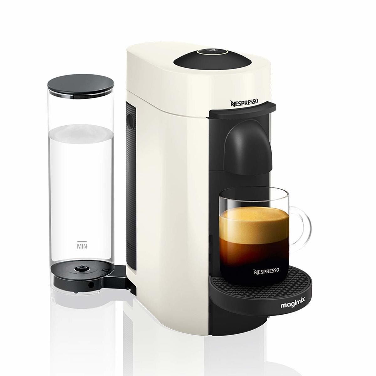 Magimix 11398 WHITE Nespresso Vertuo Plus LE White