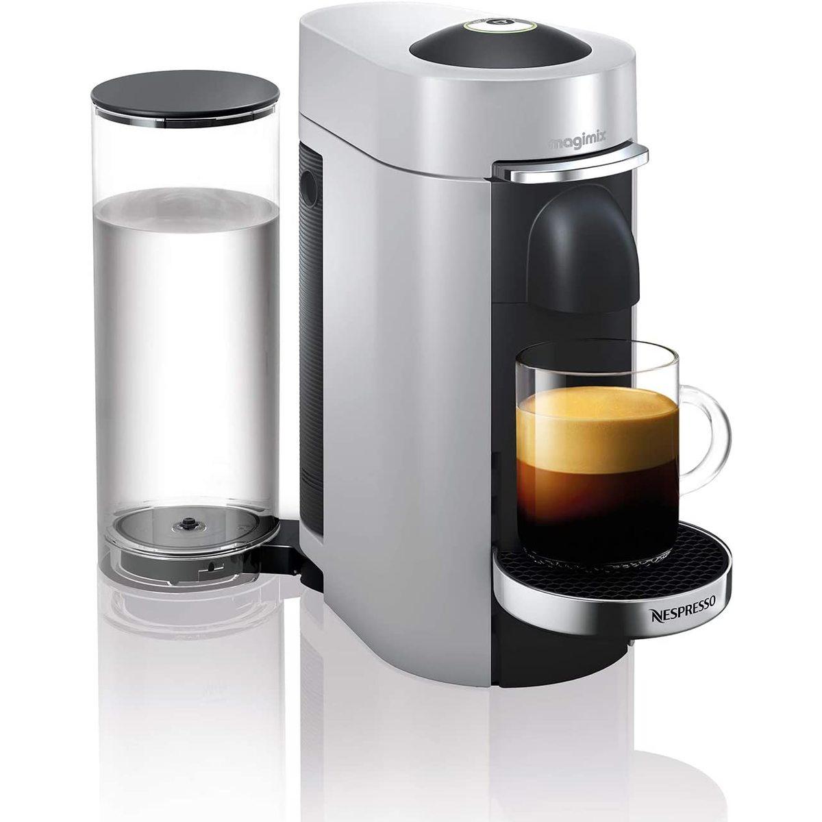 Magimix 11386 Nespresso Vertuo Plus in Silver