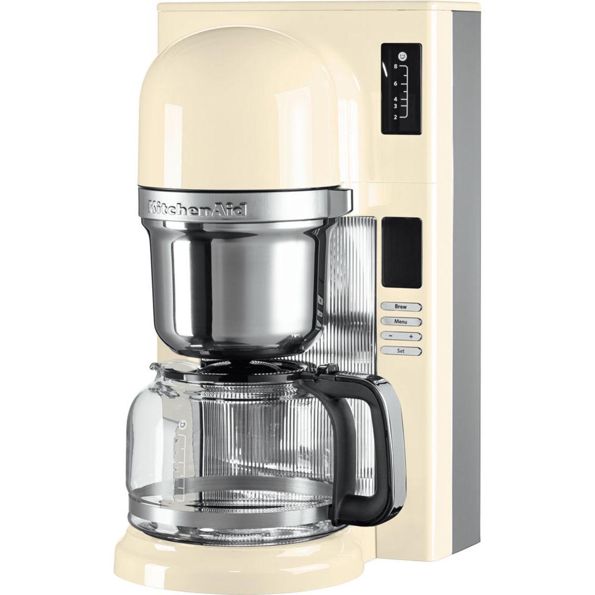 KitchenAid 5KCM0802BAC Pour Over Coffee Brewer, Almond Cream